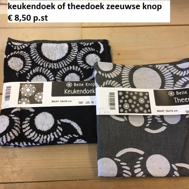 Zeeuwse knop Keuken of Theedoek
